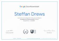 Google Zertifikat Zukunftswerkstatt